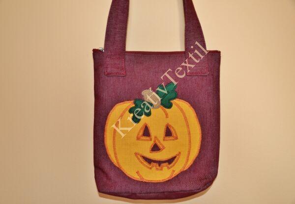 Halloween sütőtök táska